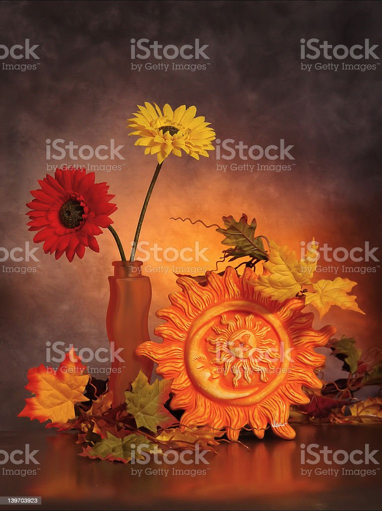 The piece of sun royalty-free stock photo