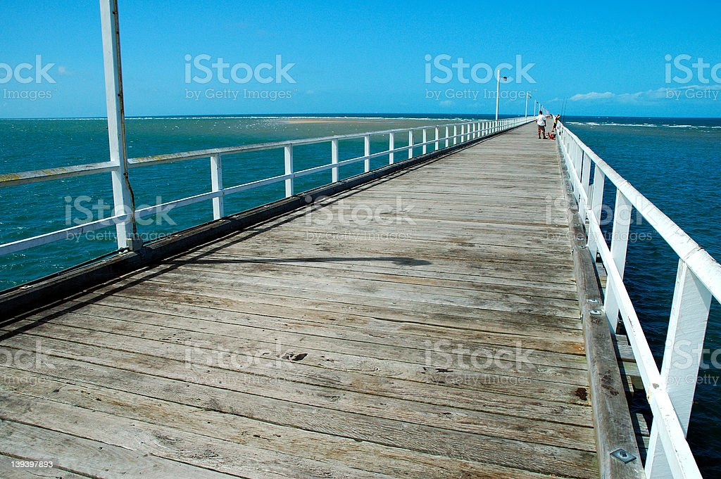 The Pier royalty-free stock photo