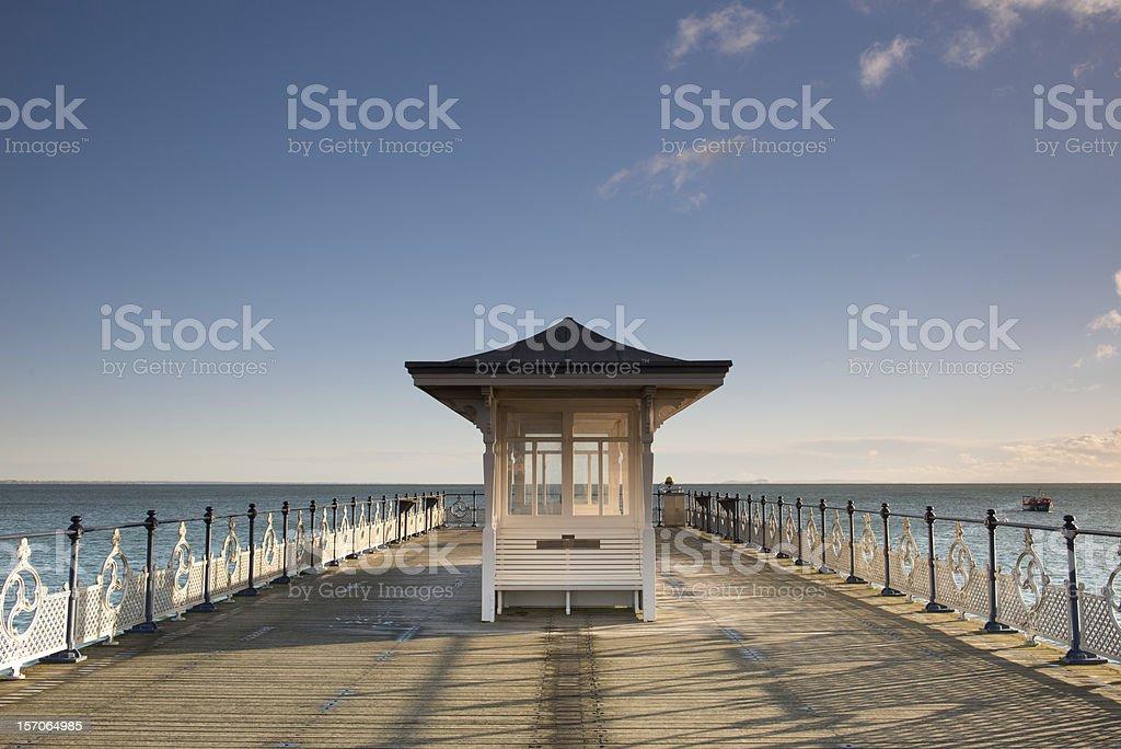 The Pier stock photo