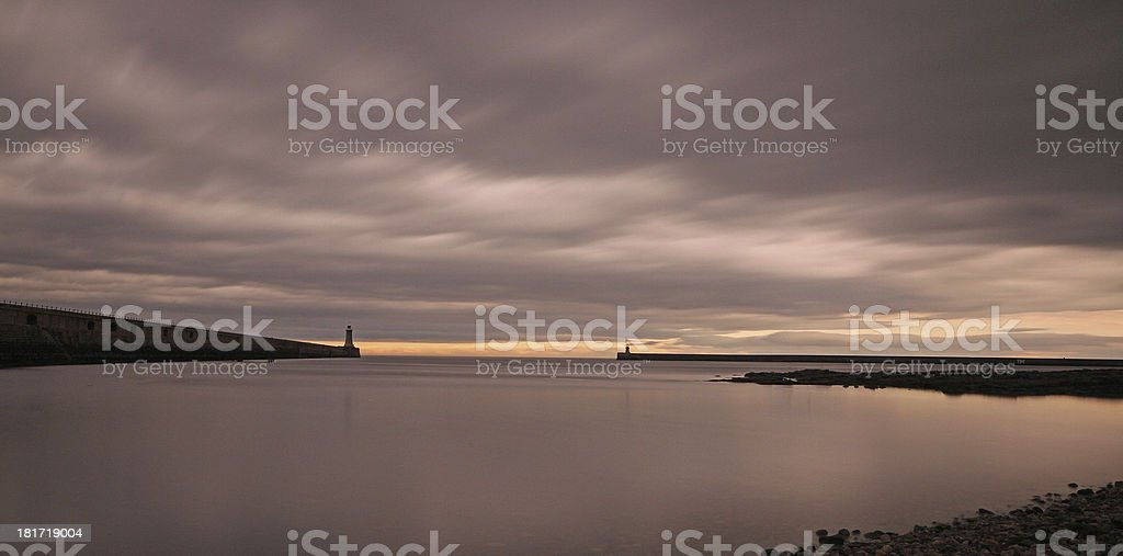 The Piers royalty-free stock photo