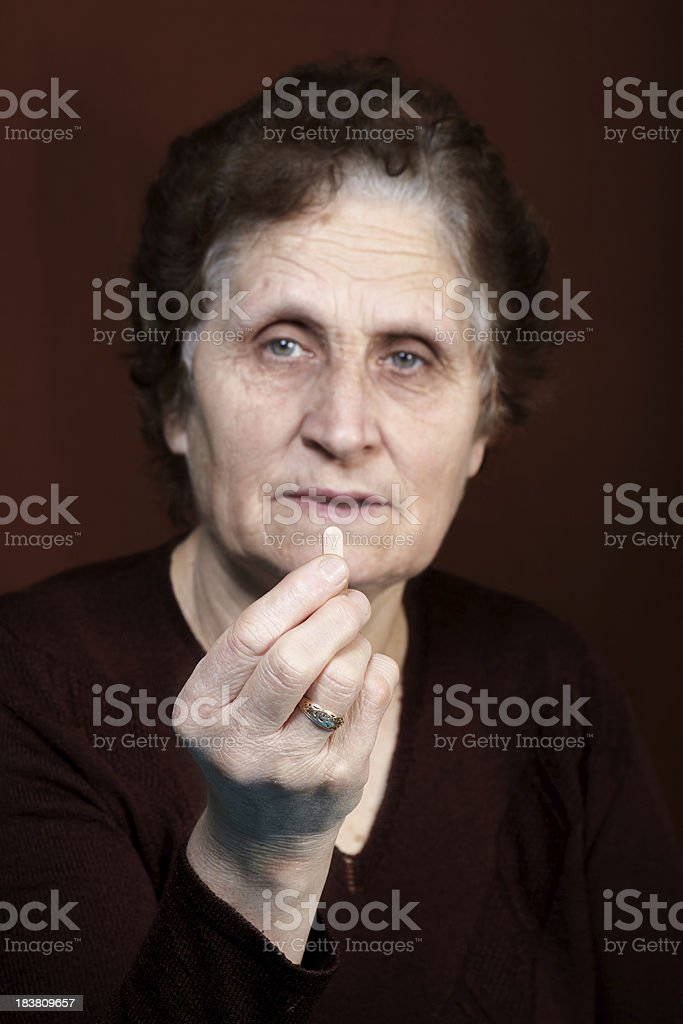 The Pill royalty-free stock photo