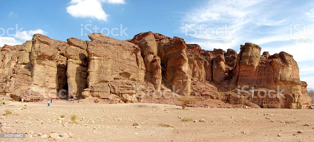 The Pillars of a King stock photo