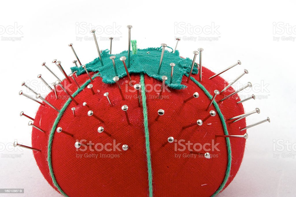 The pincushion stock photo