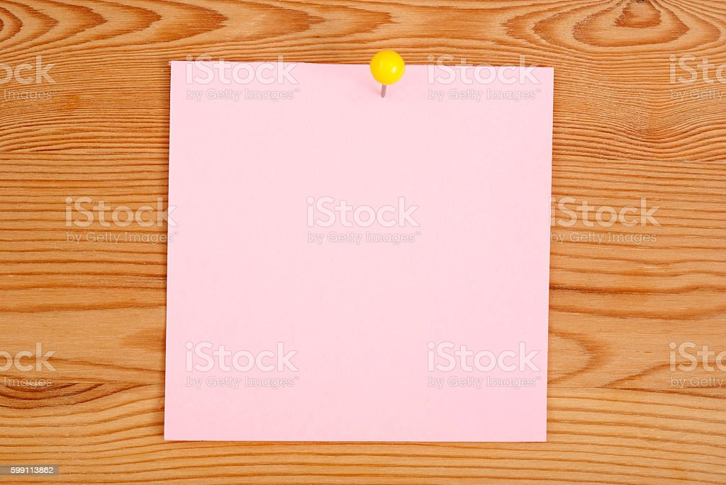 The pink square blank royalty-free stock photo
