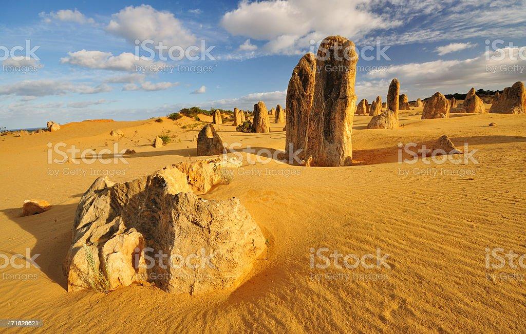 The Pinnacle Desert, Western Australia stock photo