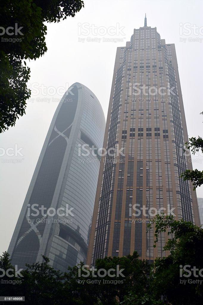 The Pinnacle, Guangzhou, China stock photo