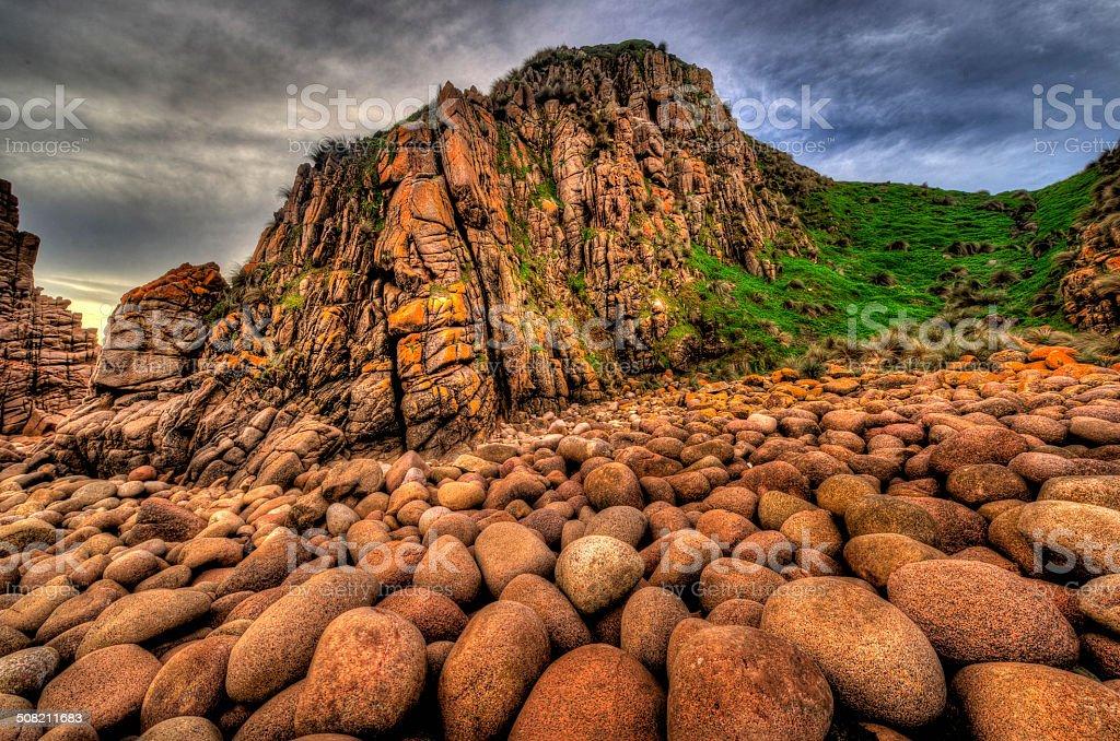 The Pinnacles at Phillip Island stock photo