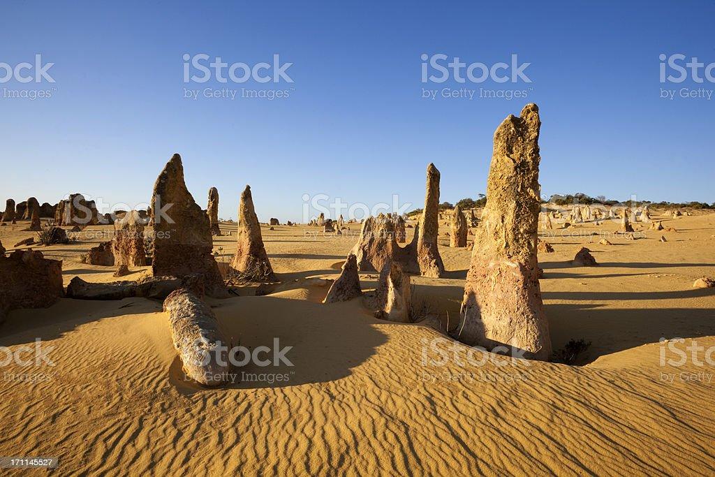 The Pinnacles Desert stock photo
