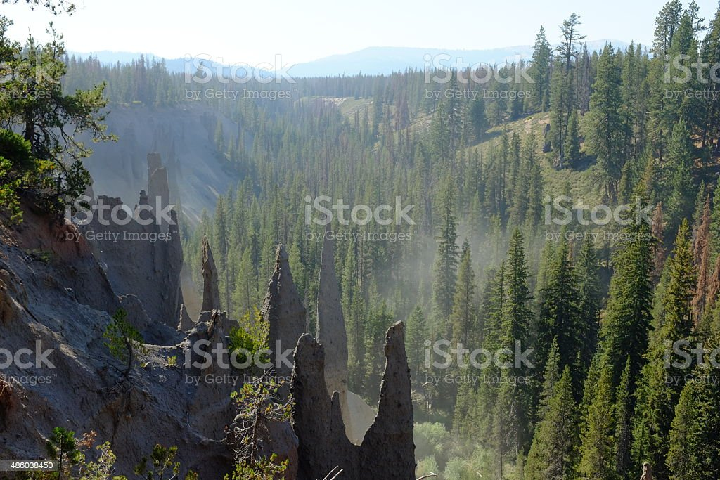 The Pinnacles stock photo