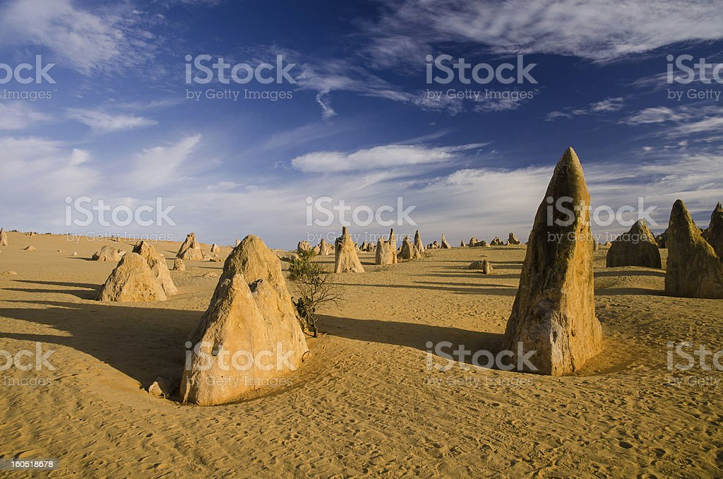 The Pinnacles, Western Australia stock photo
