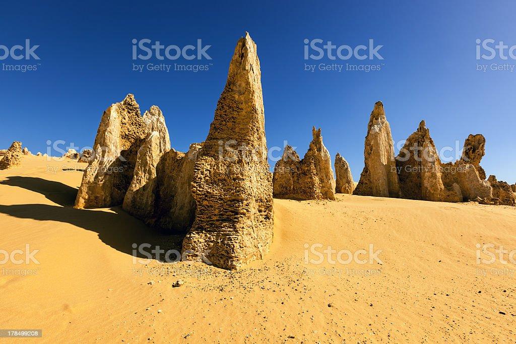 The Pinnacles Western Australia stock photo