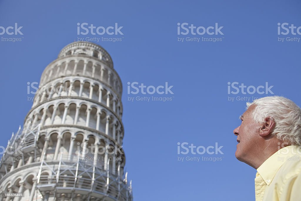 The Pisa Tower. royalty-free stock photo