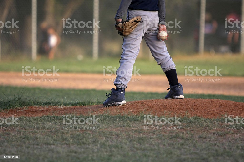The Pitch royalty-free stock photo