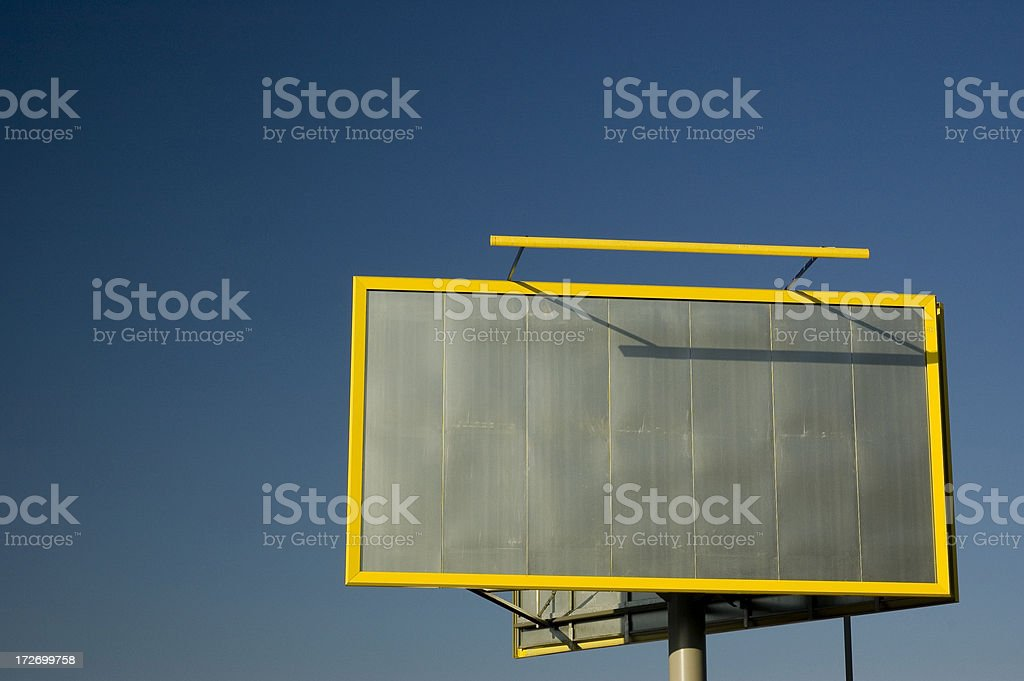 The place for your advertisement stock photo