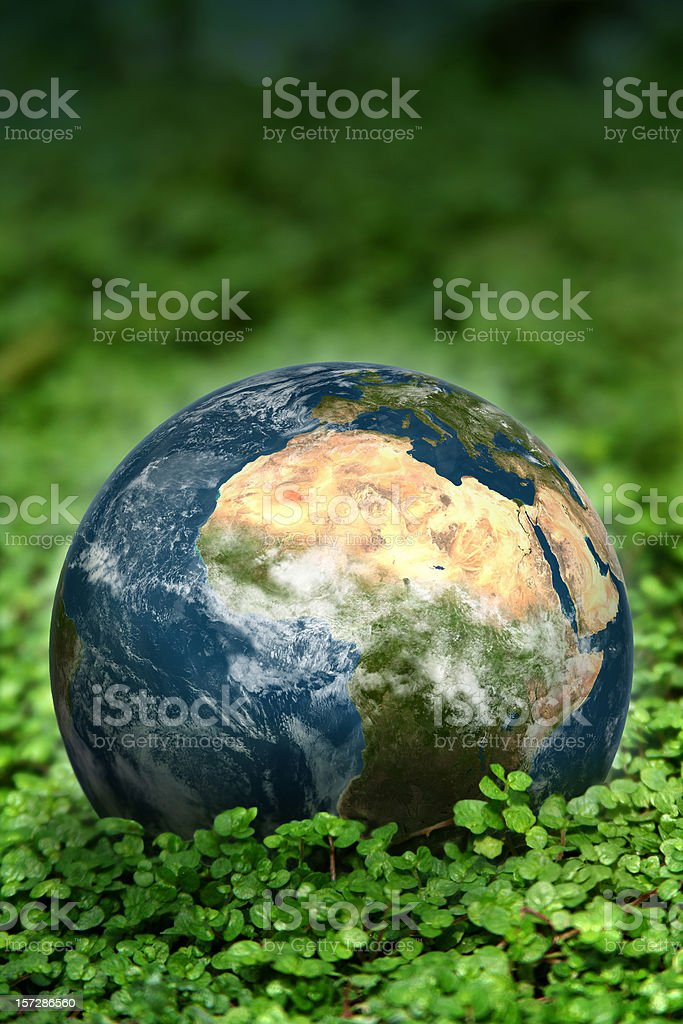 The planet we call Earth stock photo