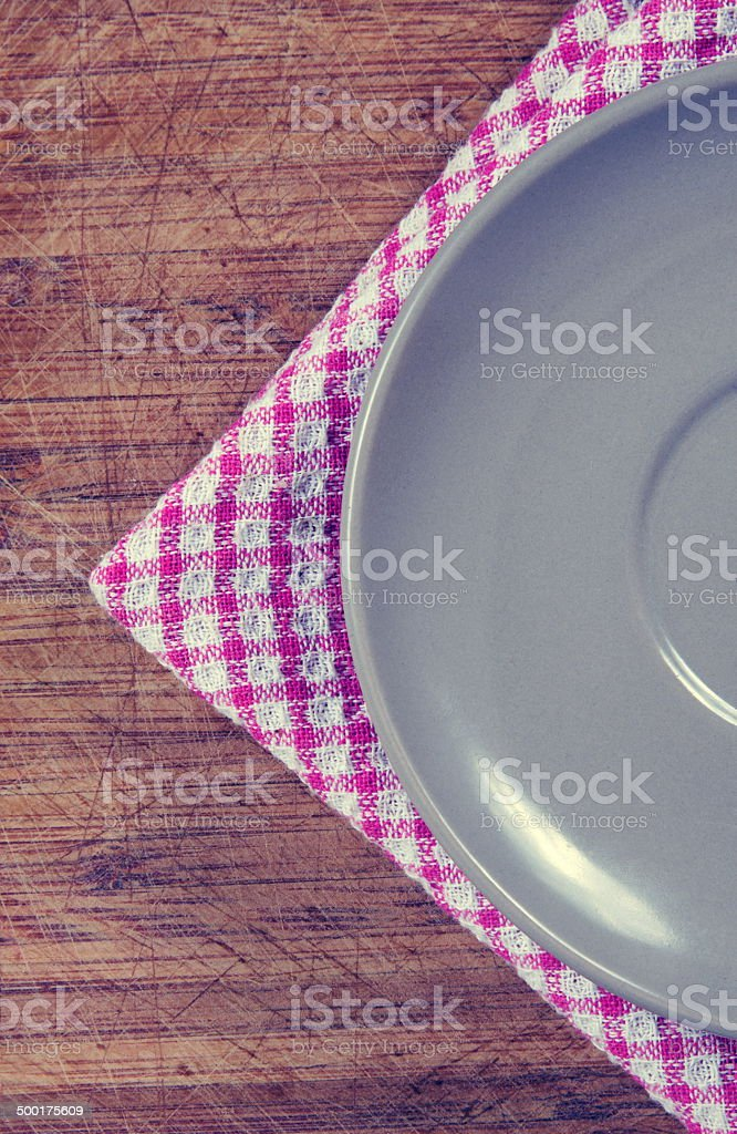 the plate stock photo