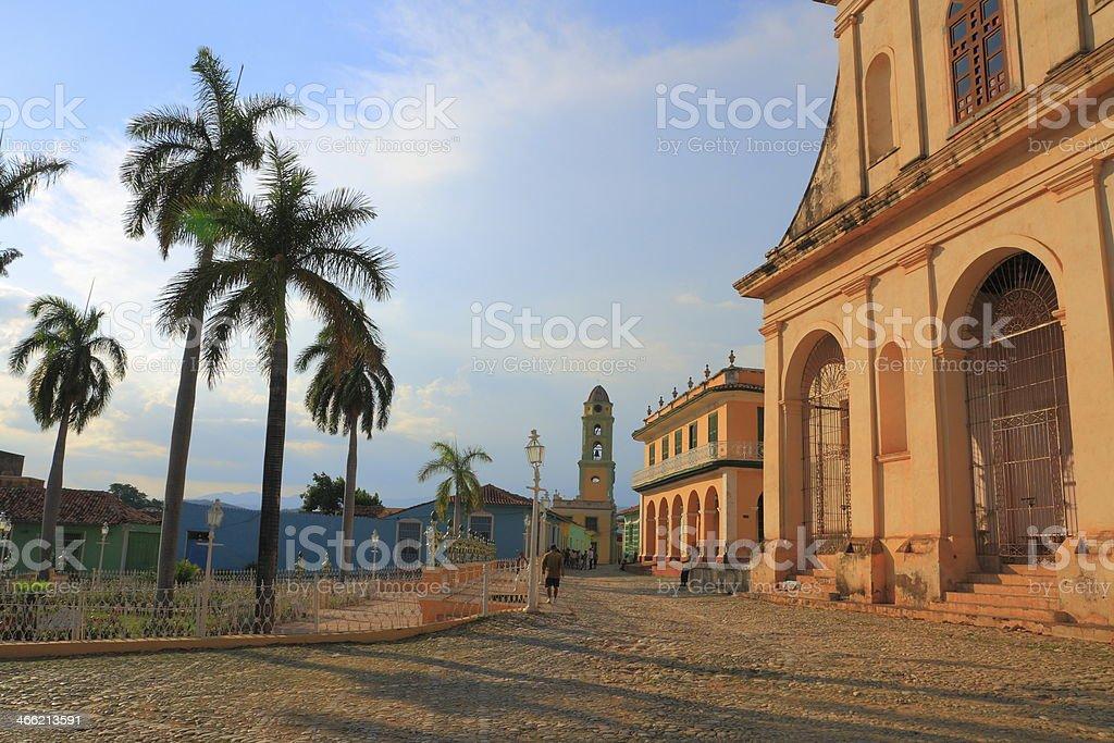 The Plaza Mayor royalty-free stock photo