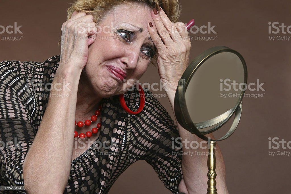 The pleasure of getting old royalty-free stock photo