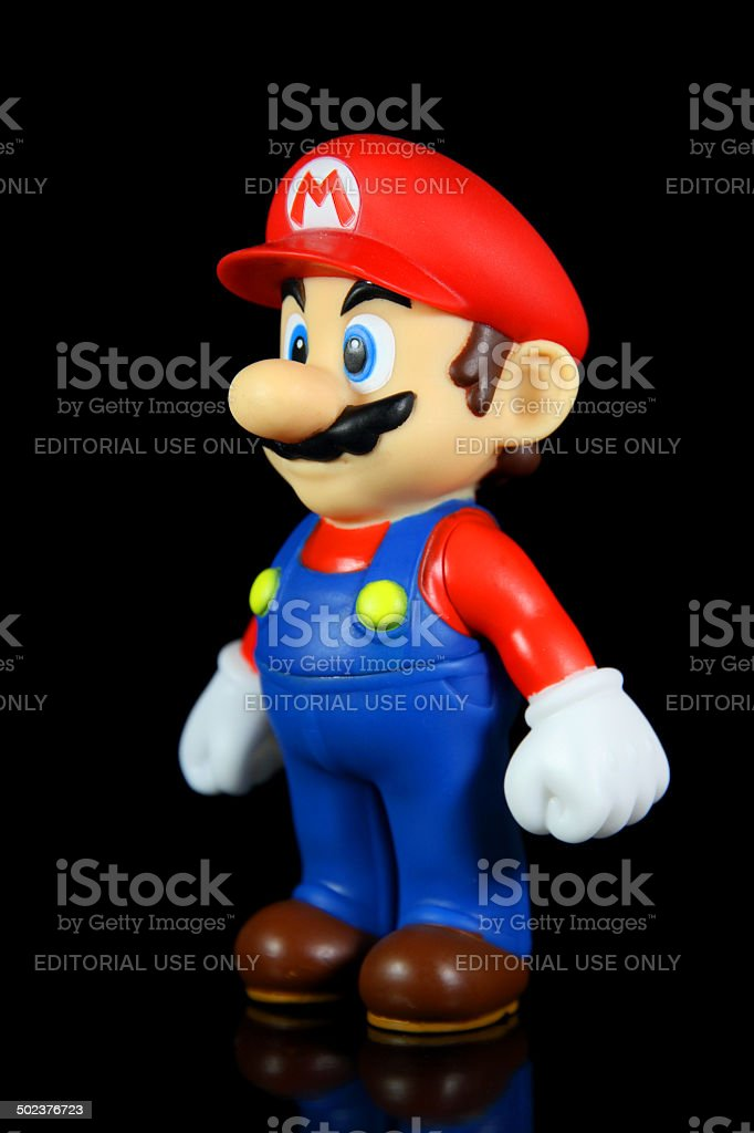 The Plumber Prince stock photo