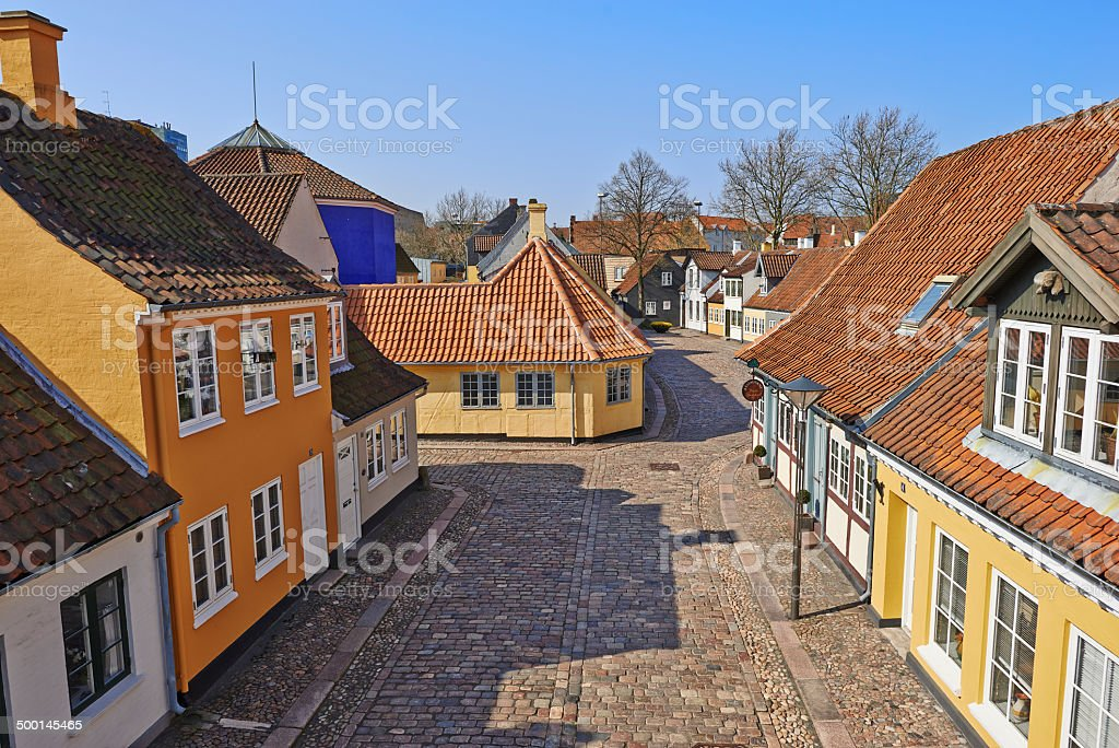 The poet Hans Christian Andersen's childhood home royalty-free stock photo