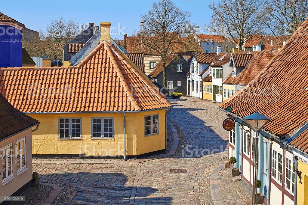 The poet Hans Christian Andersen's childhood home stock photo