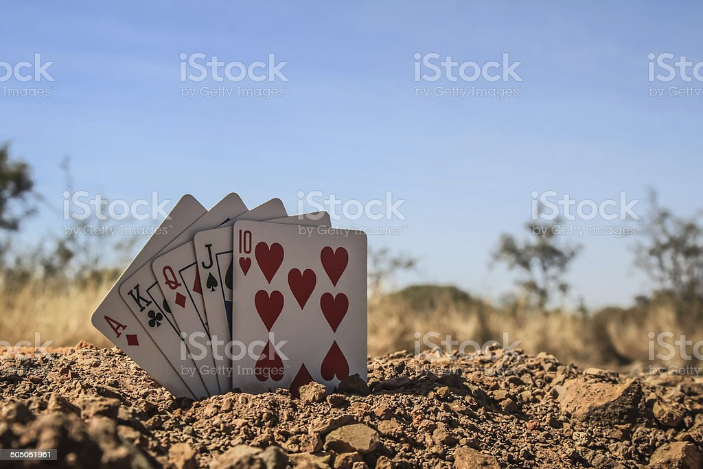The Poker Concept stock photo
