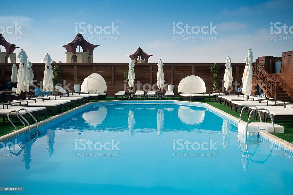The Pool royalty-free stock photo