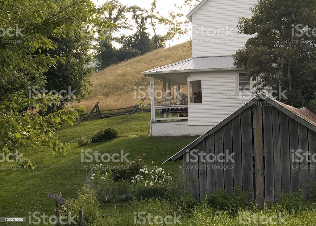 the porch stock photo
