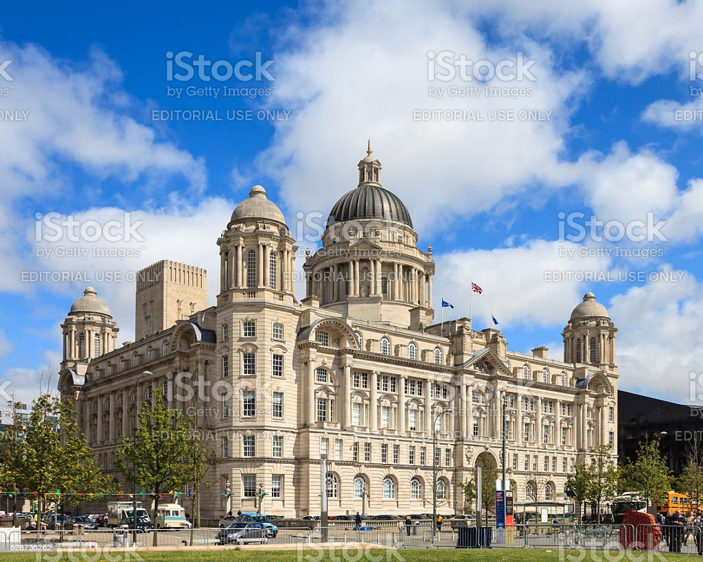 The Port of Liverpool Building stock photo