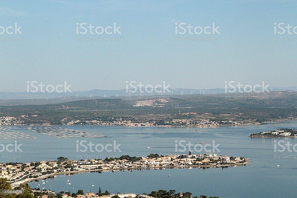 Il porto di Sète, Francia foto stock royalty-free