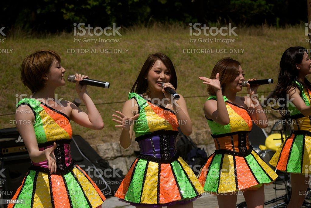 The Posshibo Concert, Osaka, Japan royalty-free stock photo