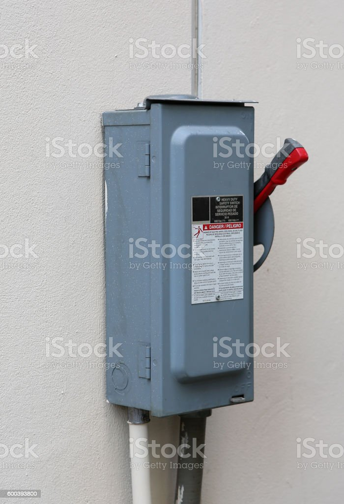 The power cut stock photo