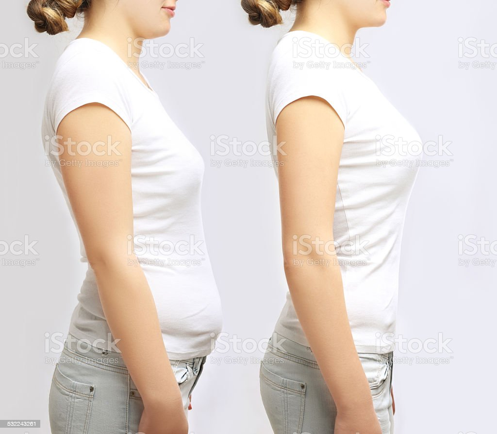 The power of posture stock photo
