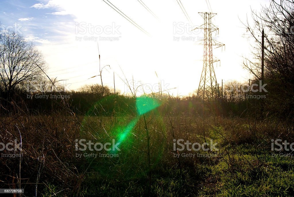 The Power of the Sun royalty-free stock photo