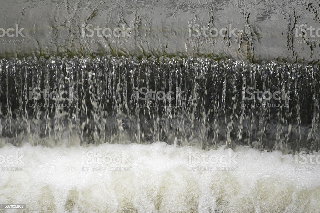 The power of water stock photo