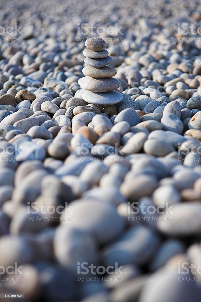 The power of zen (or something like that...) royalty-free stock photo