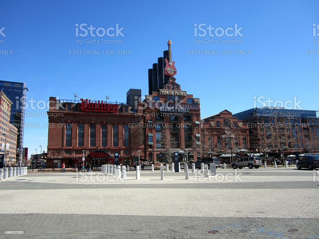 The Power Plant Building, Baltimore MD stock photo