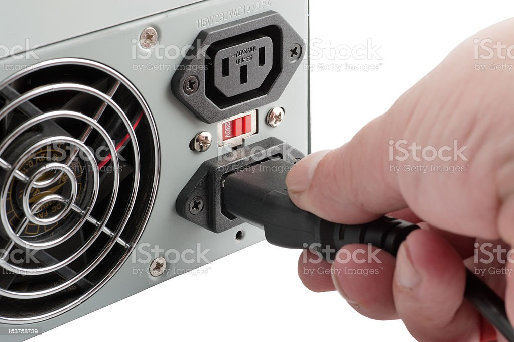 The power unit stock photo