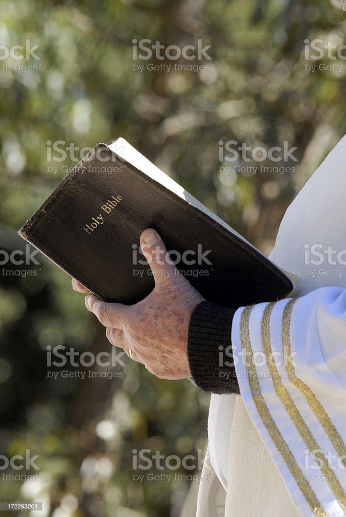 The prayer royalty-free stock photo