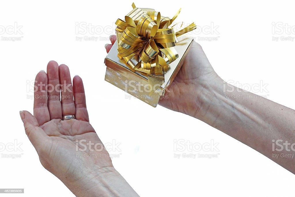 the present stock photo
