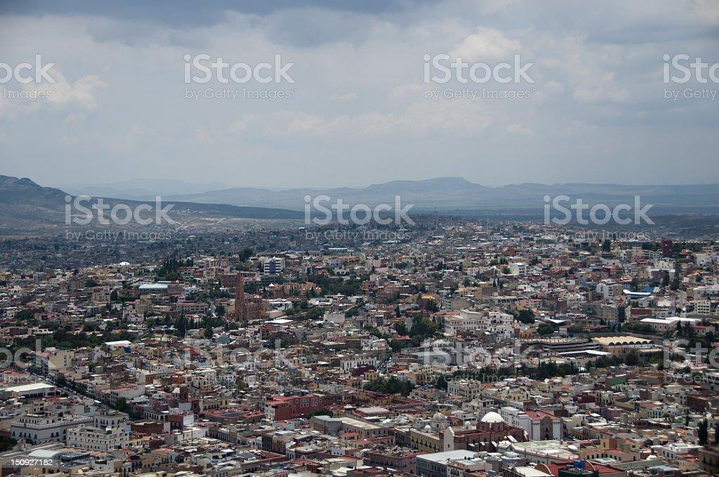 The Pretty Town stock photo