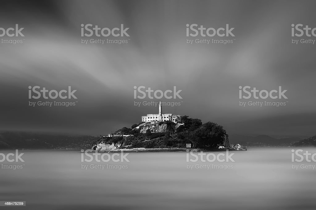 The prison royalty-free stock photo