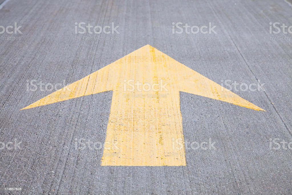 The proper direction royalty-free stock photo