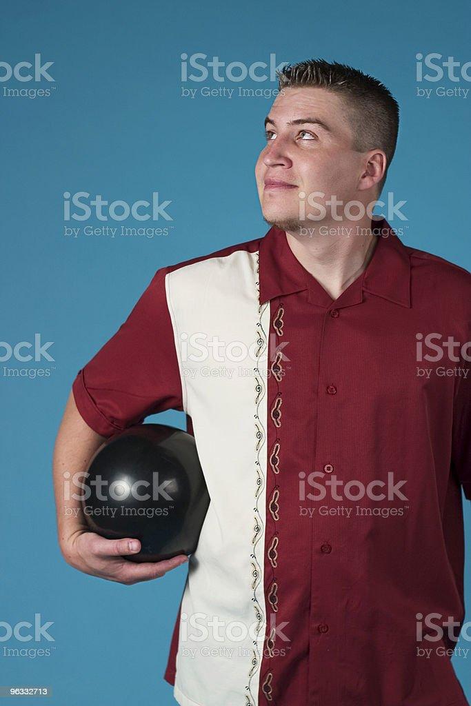 The Proud Bowler stock photo