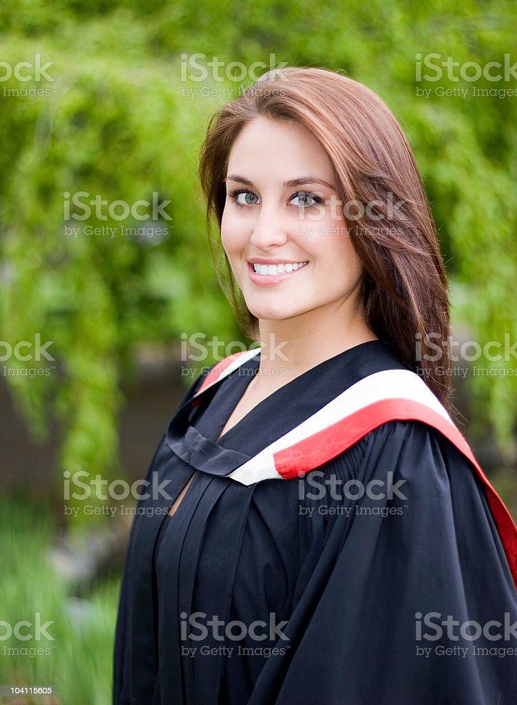 The Proud Graduate royalty-free stock photo