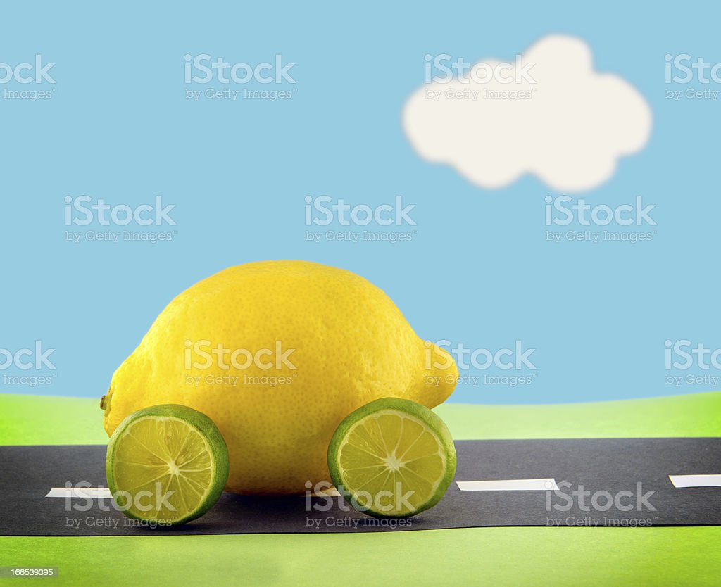 The Proverbial Lemon stock photo