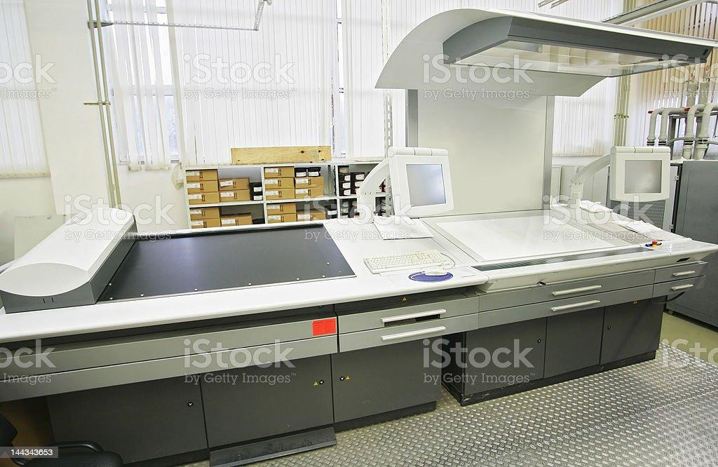 The publishing equipment royalty-free stock photo