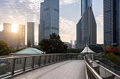 The pudong district,shanghai china.