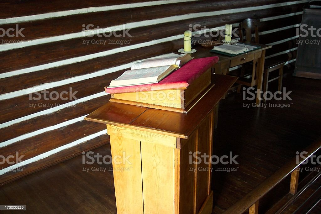 The Pulpit royalty-free stock photo