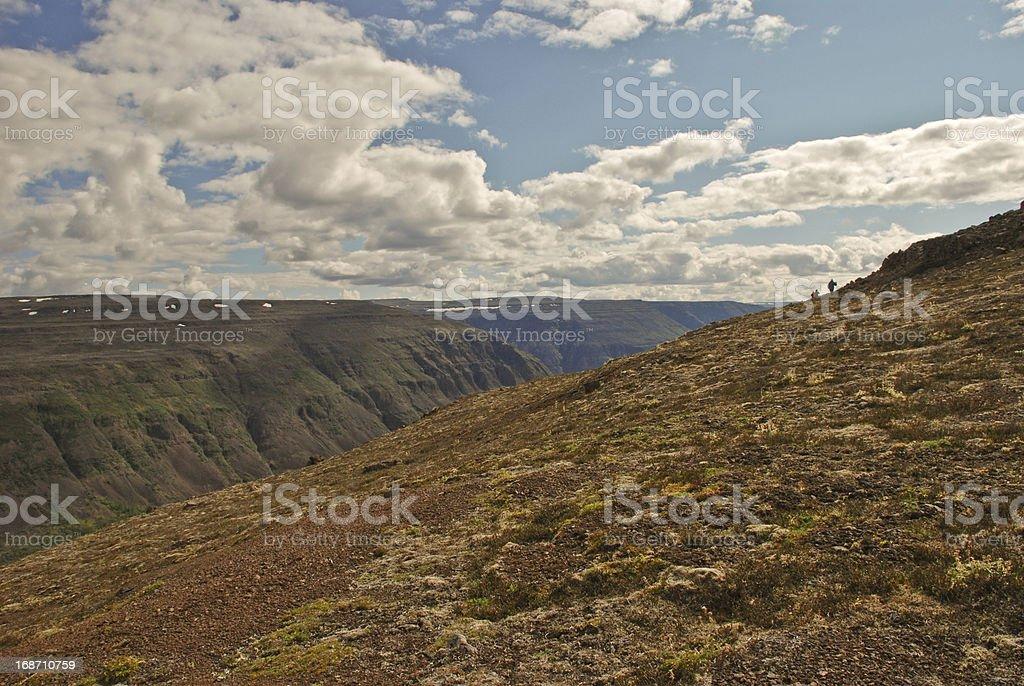 The Putorana Plateau stock photo